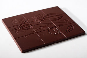 Dark Chocolate With Fancy Toppings - luxury chocolates