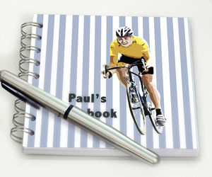 Personalised Cycling Notebook - notebooks & journals