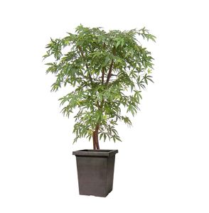 Artificial Green Maple Tree - outdoor decorations