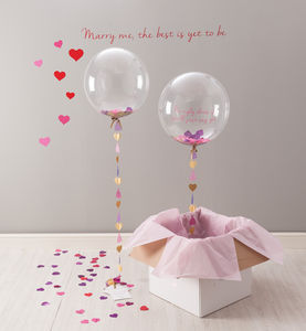 'Will You Be My Bridesmaid?' Balloon - outdoor decorations