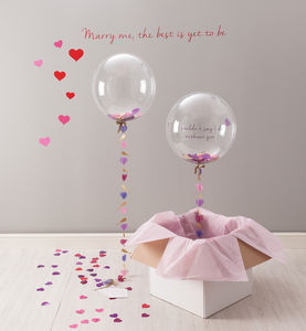 'Will You Be My Maid Of Honour?' Balloon - be my bridesmaid?