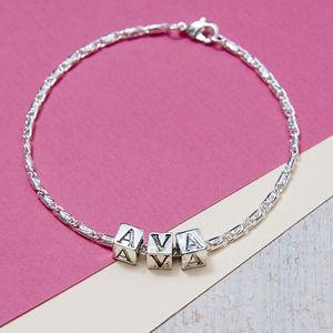 Personalised Name Bracelet - women's jewellery