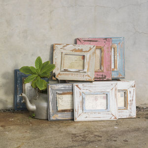 Gugu Reclaimed Wooden Frame 4x6' - picture frames