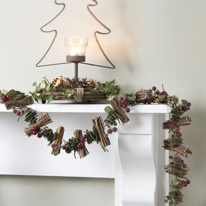 Twig And Berry Christmas Garland - home accessories