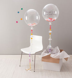 Sweet Dreams Confetti Balloon - outdoor decorations