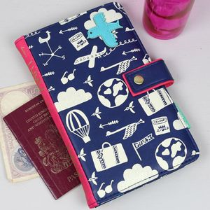 'Daydream' 'Fly Me Away Somewhere Lovely' Travel Wallet - frequent traveller