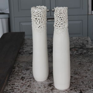Barnacle Shell Standing Form Vase
