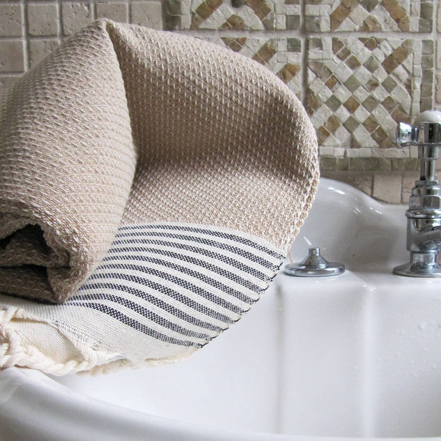 Superior Luxury Honeycomb Hammam Guest Towel