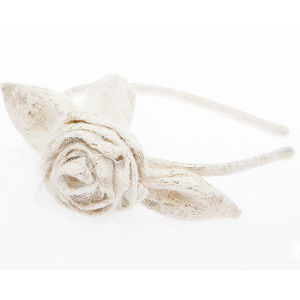 Snow White's Dream Girl's Rose Headband