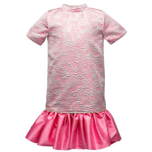 Precious Flower Girl's Trapeze Frill Dress - for children
