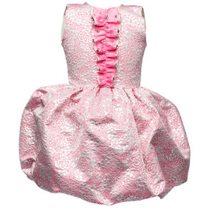 Precious Flower Girl's Jacquard Transformer Dress - for children