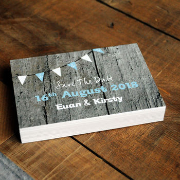 Driftwood Wedding Save The Date