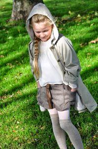 Girl's Winter Trench Coat