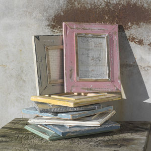 Zola Reclaimed Wooden Frame 6x8' - picture frames
