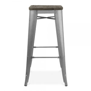 Bistro Cafe Bar Stool Set Of Four