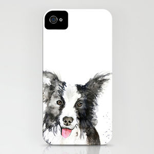 Inky Dog Phone Case