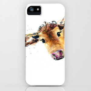 Inky Cow Phone Case - tech accessories for him