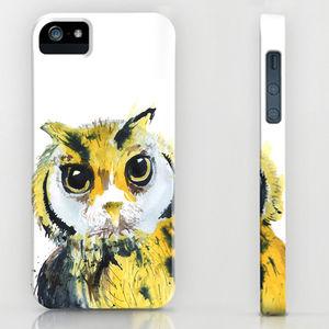 Inky Owl Phone Case