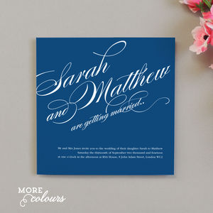 Victoria Wedding Invitation - invitations
