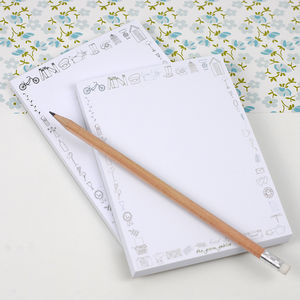 Doodle Note Pads