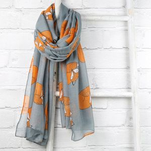 Sleeping Fox Scarf