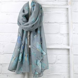 Pastel Butterfly Scarf - gifts for grandparents