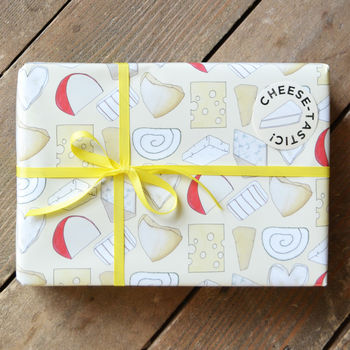 Cheesy Wrapping Paper