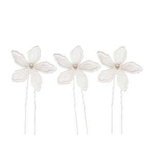 Lace Wedding Hair Pins Flowers