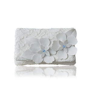 Astor Something Blue Clutch - wedding fashion