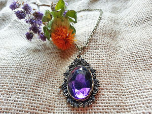 Bluebell Floral Necklace