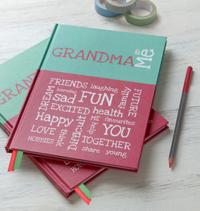 Grandma And Me - planners & record books