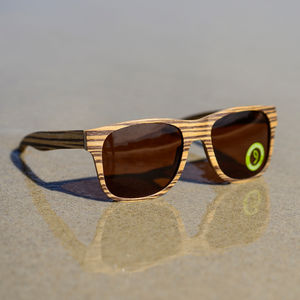 Tallows Zebrawood Sunglasses