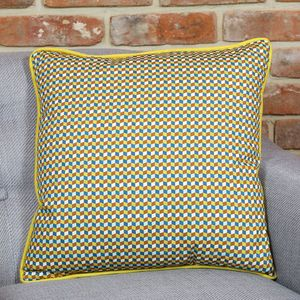 Geometric Cube Cushion