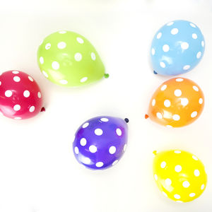 Mini Polka Dot Balloons