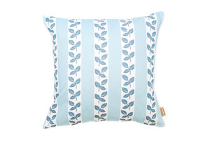 Bramble Leaf Stripe Cushion