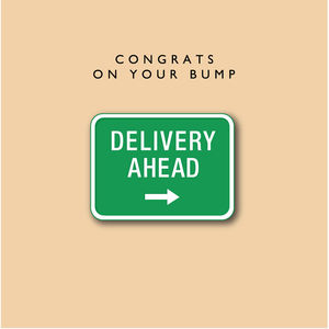 'Congrats On Your Bump' Card