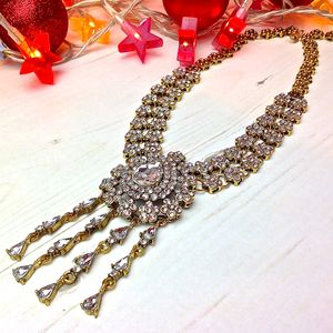 Maribel Crystal Necklace - necklaces & pendants