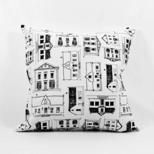 Cape Dutch House Cushion Cover