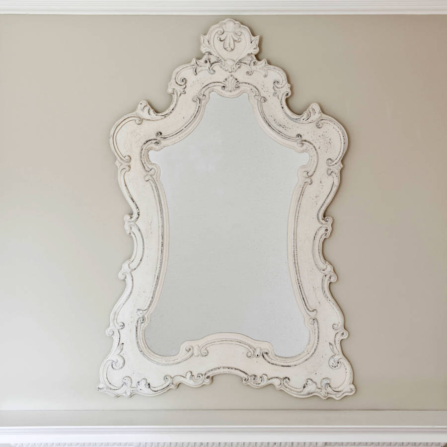 vintage boudoir mirror by decorative mirrors online | notonthehighstreet.com