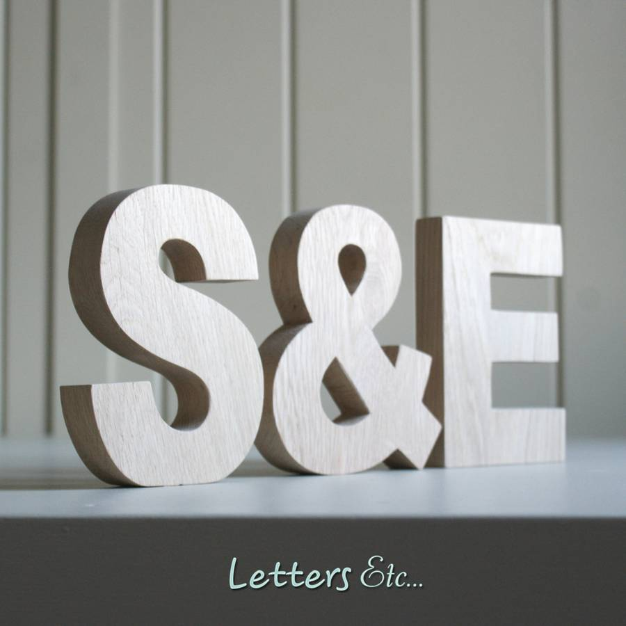 wooden letters chunky by letters etc. Black Bedroom Furniture Sets. Home Design Ideas