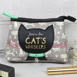 'Daydream' You're The Cat's Whiskers Make Up Bag