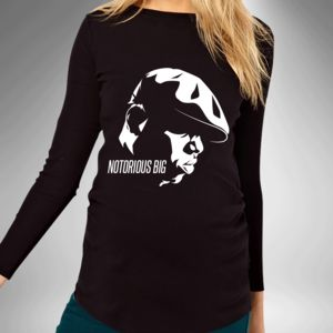 Notorious Big Hip Hop Maternity T Shirt - women's fashion