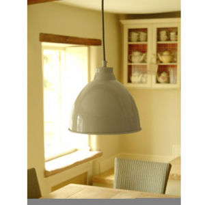 Harrow Pendant Ceiling Light In Clay - lighting