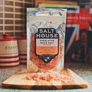 Himalayan Medium Grain Pink Rock Salt - food & drink sale