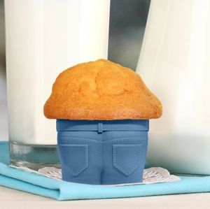 Set Of Four Muffin Top Muffin Cases