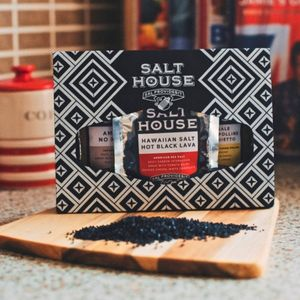 Italian, Hawaiian And Japanese Salt Collection - food gifts