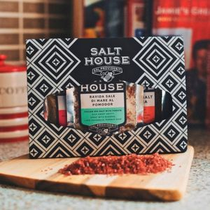 Italian, Hawaiian And Japanese Ruby Salt Collection - mustards & seasonings