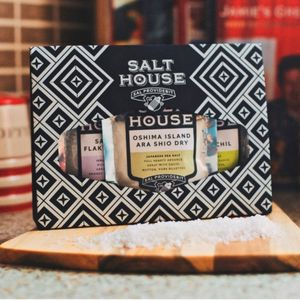 Balinese, Icelandic And Japanese Salt Collection - mustards & seasonings