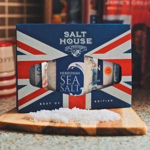 British Gourmet Salt Collection - mustards & seasonings
