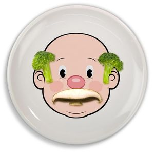 Design Your Own Mr Face Food Plate